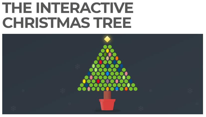Two holiday email marketing