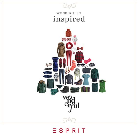 Esprit holiday email marketing