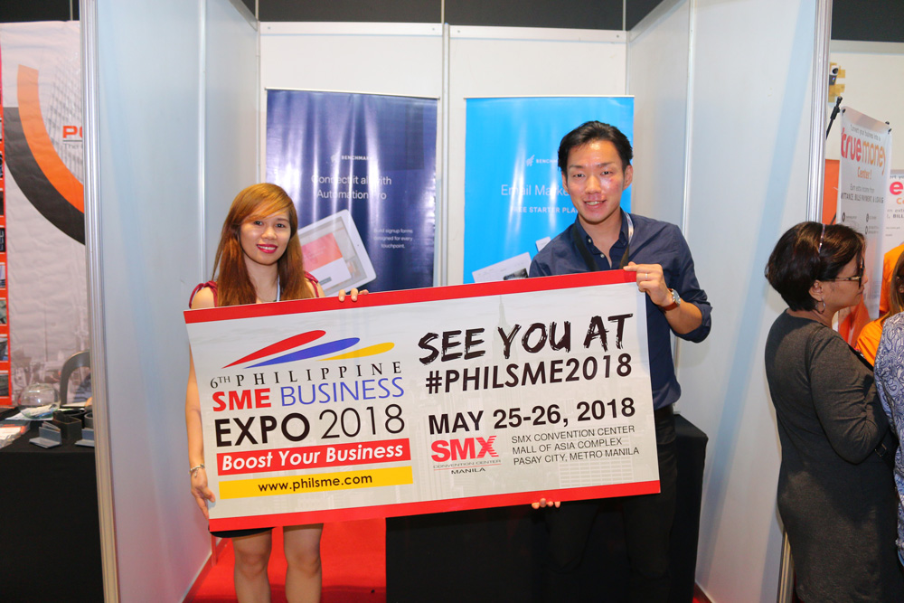 6th Philippine SME Business Expo 2018 on May 25-26, 2018