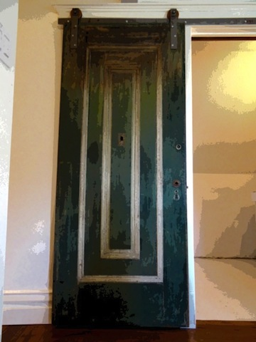How To Create A Diy Vintage Door With Hardware