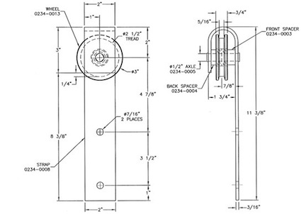 How to create a diy vintage door with hardware for Diy architectural drawings