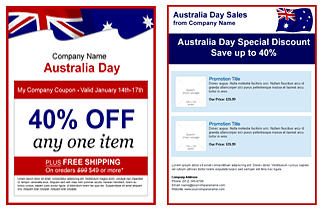 barrack for australia day email templates