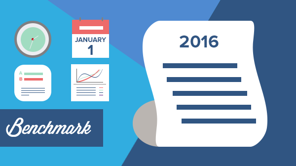 12 New Year's Resolutions for your email marketing strategy in 2016