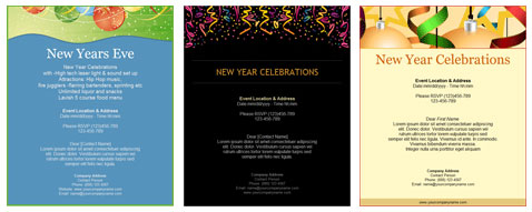 new year s eve templates from benchmark