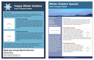 Benchmark Winter Solstice email template