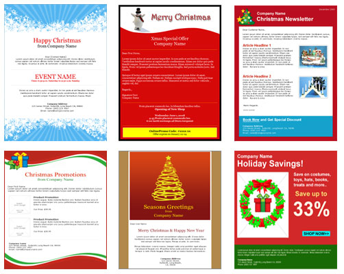 Have a very merry christmas with these christmas email templates announcing free christmas email templates from benchmark email maxwellsz