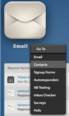 Email Contacts