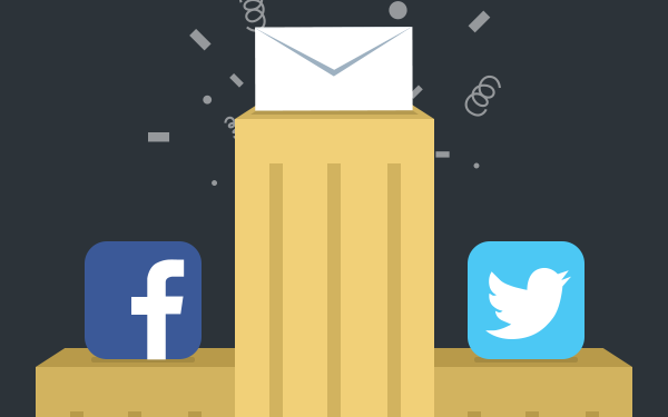 Email Is 40 X As Effective As Facebook & Twitter Combined