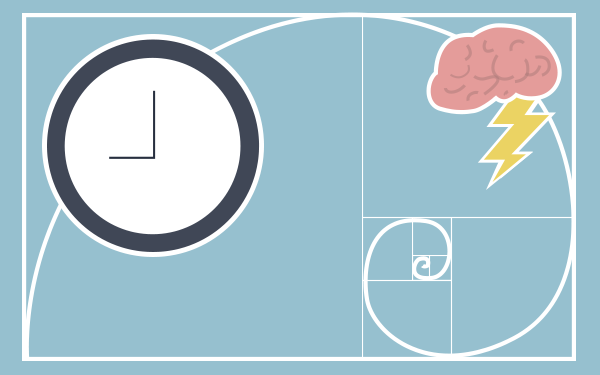 The Golden Ratio for Productive Creativity in the Workplace
