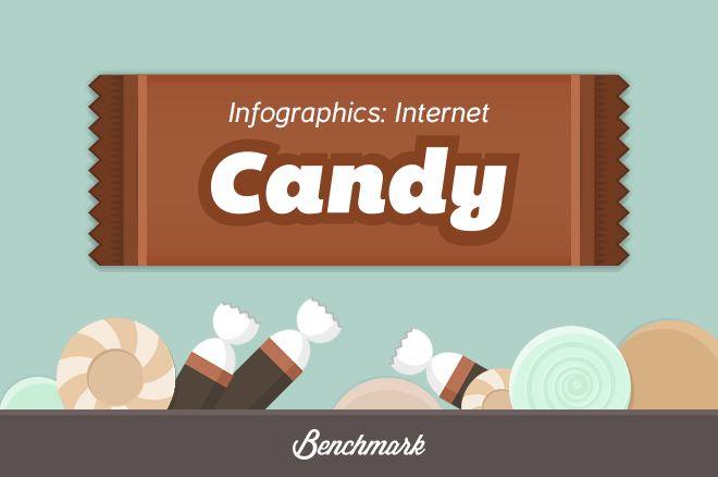 break away from the universal infographic look with animated gifs