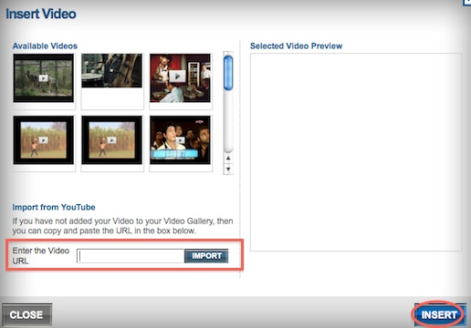Embedding Videos from YouTube, Vimeo and Blip tv in Your Email