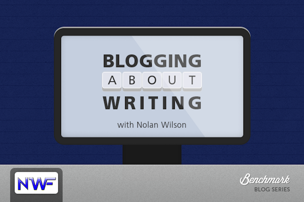 Blogging About Writing
