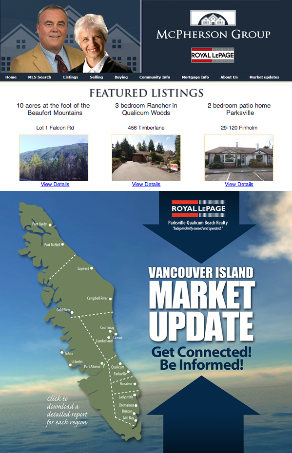 Royal LePage Realty in Parksville