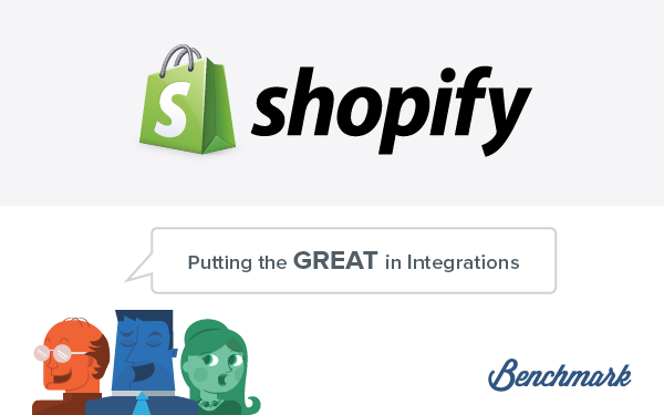 Ecommerce & Email Marketing Are Best Friends with the Benchmark Email Shopify Integration