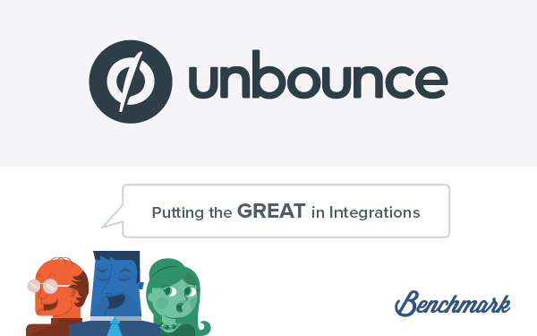 Benchmark Email Unbounce Integration