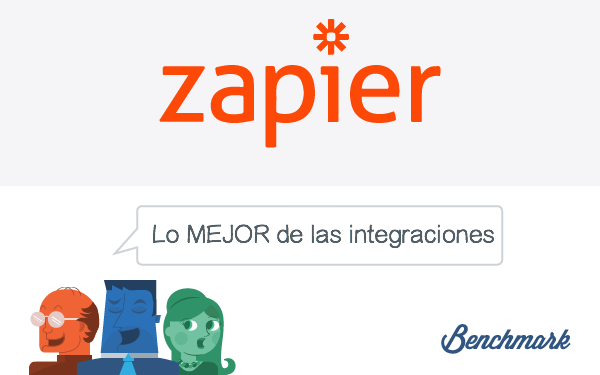 Benchmark is App-Happy Thanks to Our Zapier Integration