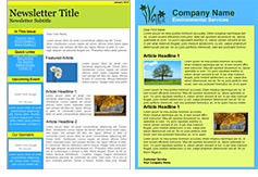 Environmental Services templates
