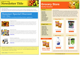 Grocery templates