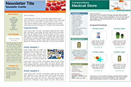 Pharmacy templates
