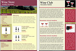 Winery templates