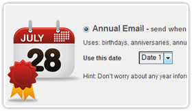 Automatic Birthday Email