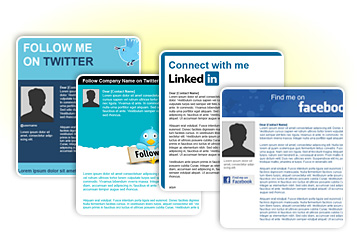 Social Media Email Templates
