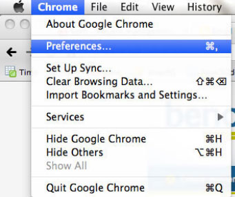 ... popup blocker with these steps: 1. While your browser is open, just  click on the Chrome menu at the top left of your screen. Next, click  Preferences.