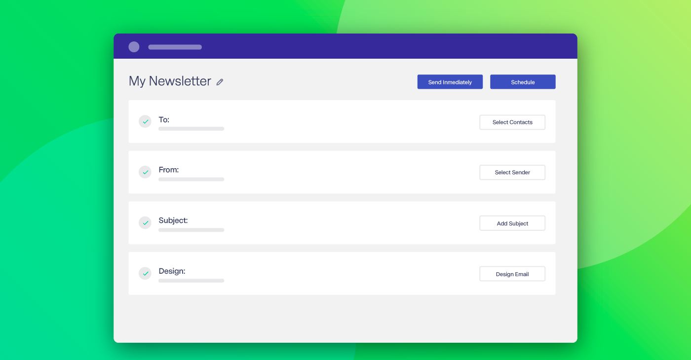 New Email Workflow