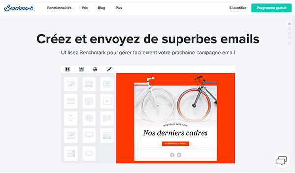 Benchmark French site