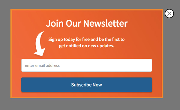 Newsletter Popup