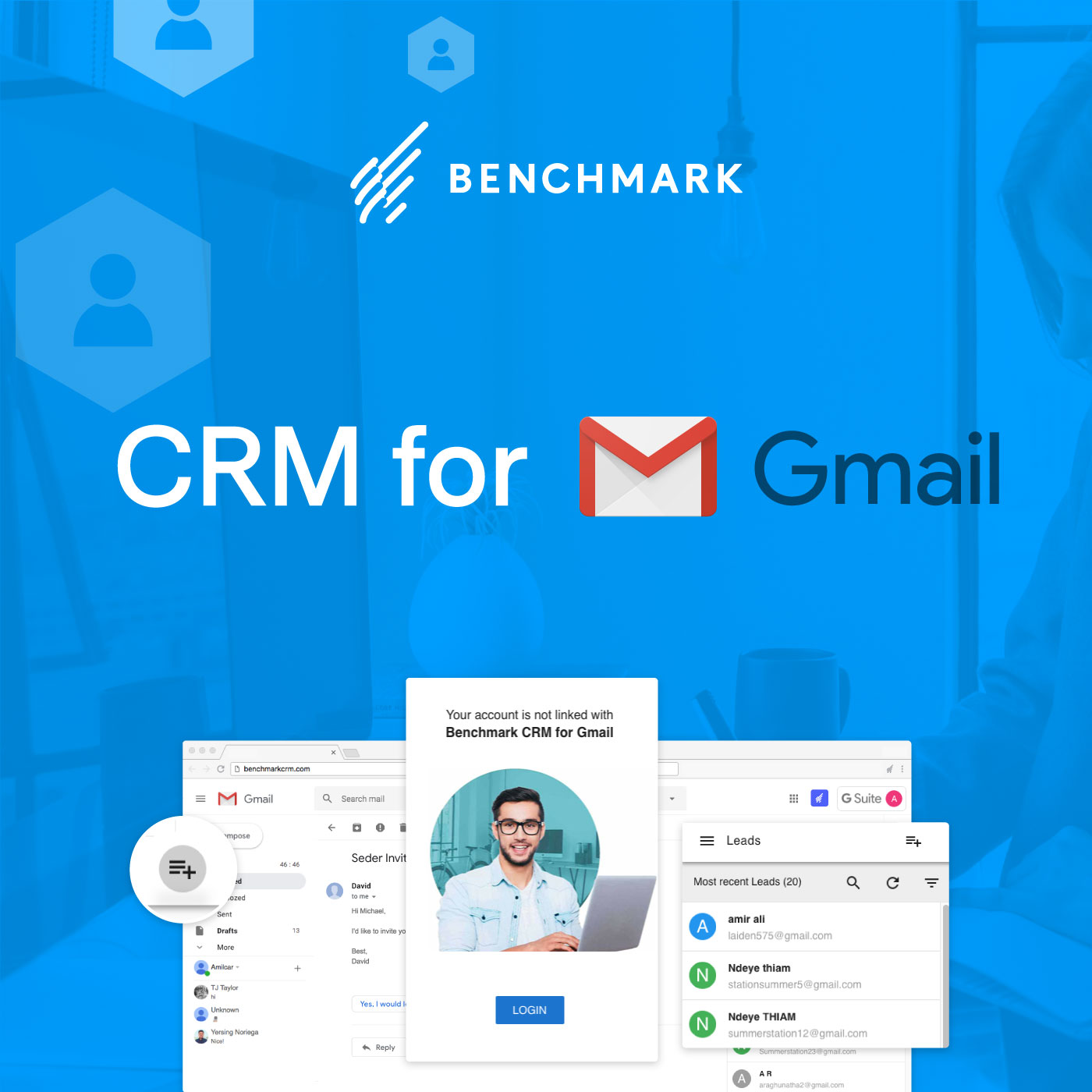 Benchmark CRM for Gmail