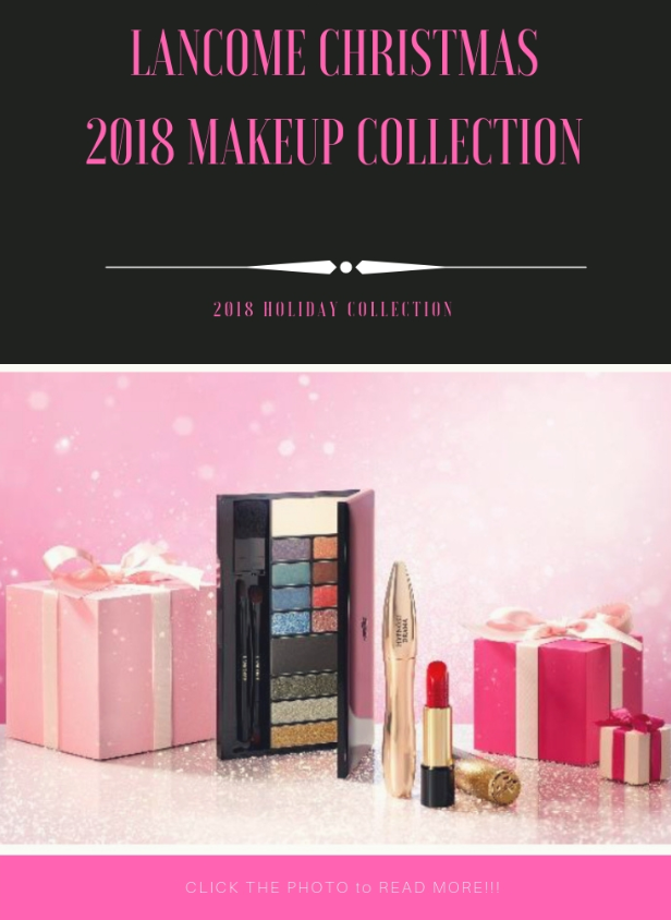Lancome holiday email marketing