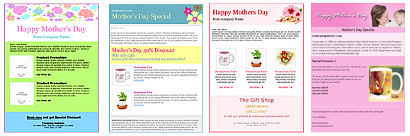 Email Templates - Mother's Day Email Templates